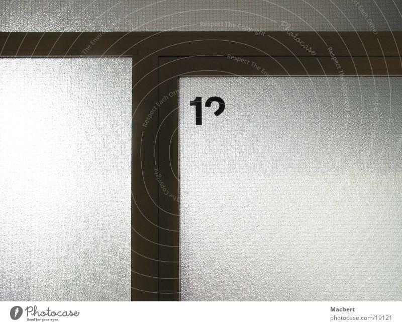 Wo jetzt Architektur Glas Tür