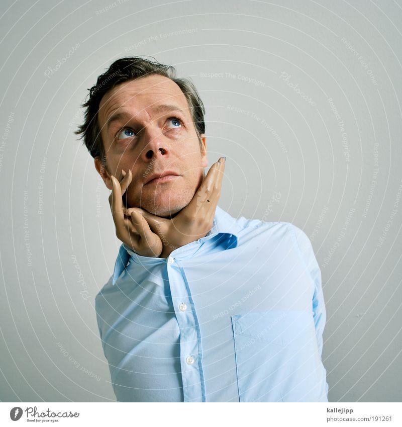 handzahm Mann Hand Gesicht Erwachsene Auge Leben Kopf Haare & Frisuren Paar träumen Porträt Haut Mund maskulin Nase Finger