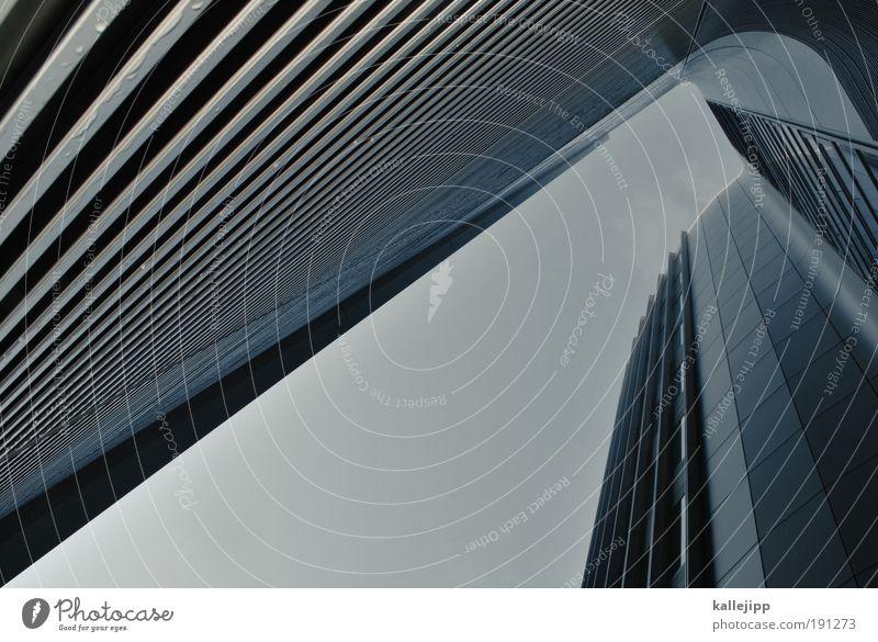n Haus Wand Fenster Mauer Gebäude Business Architektur Hochhaus Fassade modern Macht Zukunft Bankgebäude Geldinstitut Management