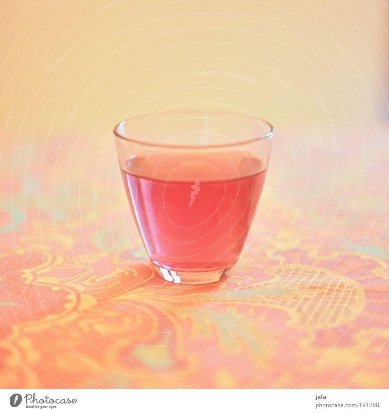 cherry soda Lebensmittel Ernährung Getränk Erfrischungsgetränk Limonade Alkohol Glas Flüssigkeit mehrfarbig gelb rosa Saft süß Durst Tisch Muster Mittelformat