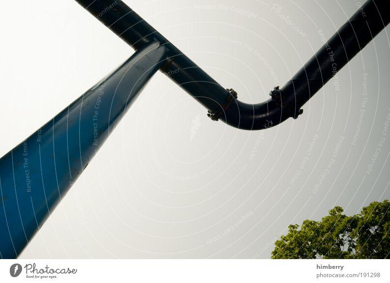 bio pipe Natur Wasser Himmel Baum Design Umwelt Energie Industrie Energiewirtschaft Zukunft Technik & Technologie Baustelle Verbindung Stahl Röhren Handwerk
