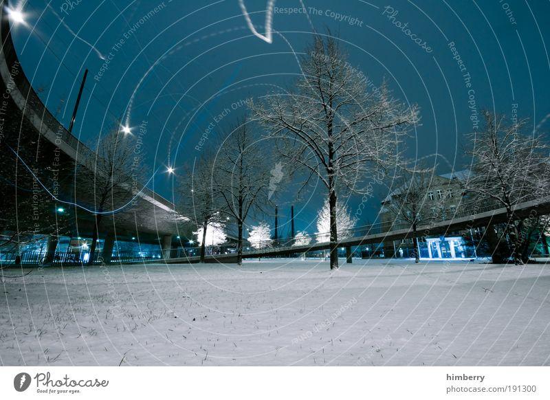winterzauber Himmel Stadt Winter Straße Schnee Wiese Landschaft Eis Architektur Straßenverkehr Umwelt Verkehr Brücke Energiewirtschaft Platz