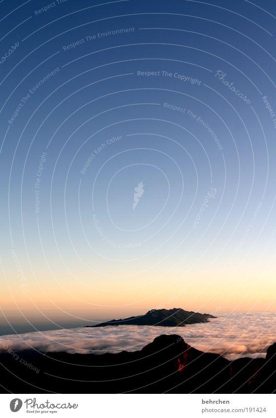 wanderführer sind was für weicheier Himmel schön Ferien & Urlaub & Reisen Wolken Ferne Freiheit Berge u. Gebirge Landschaft Zufriedenheit Kraft Ausflug Insel