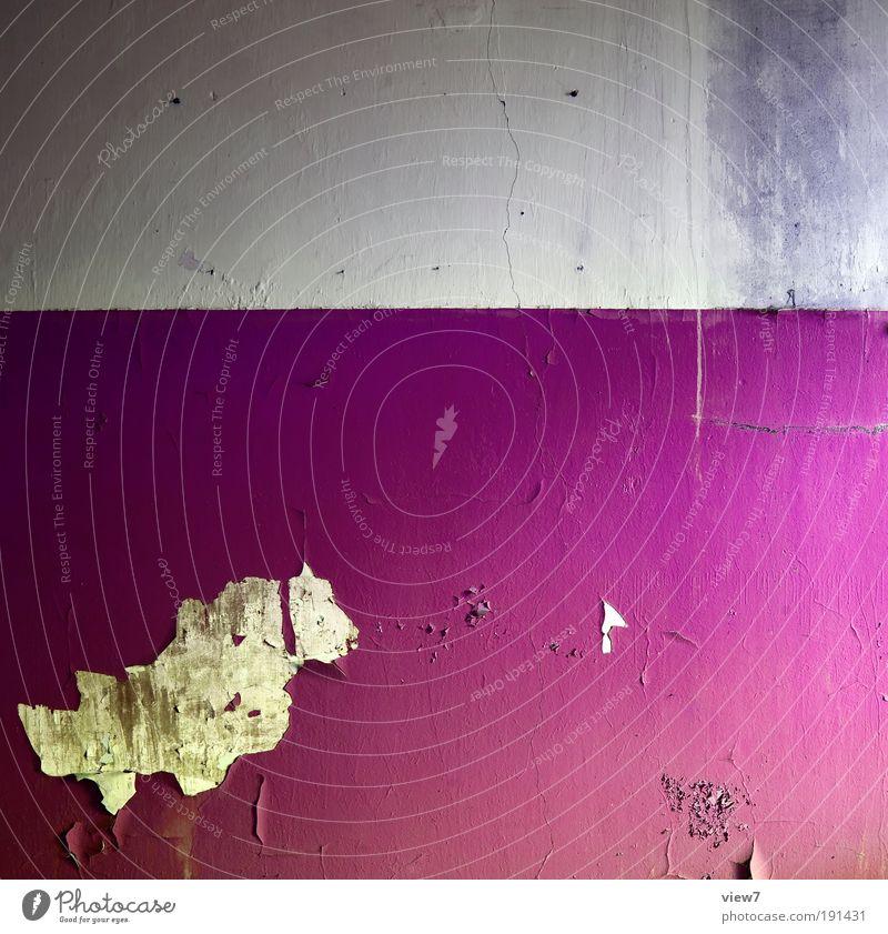 P I N K Wohnung einrichten Innenarchitektur Dekoration & Verzierung Tapete Raum Stein Beton Linie Streifen alt außergewöhnlich dreckig dunkel einfach elegant