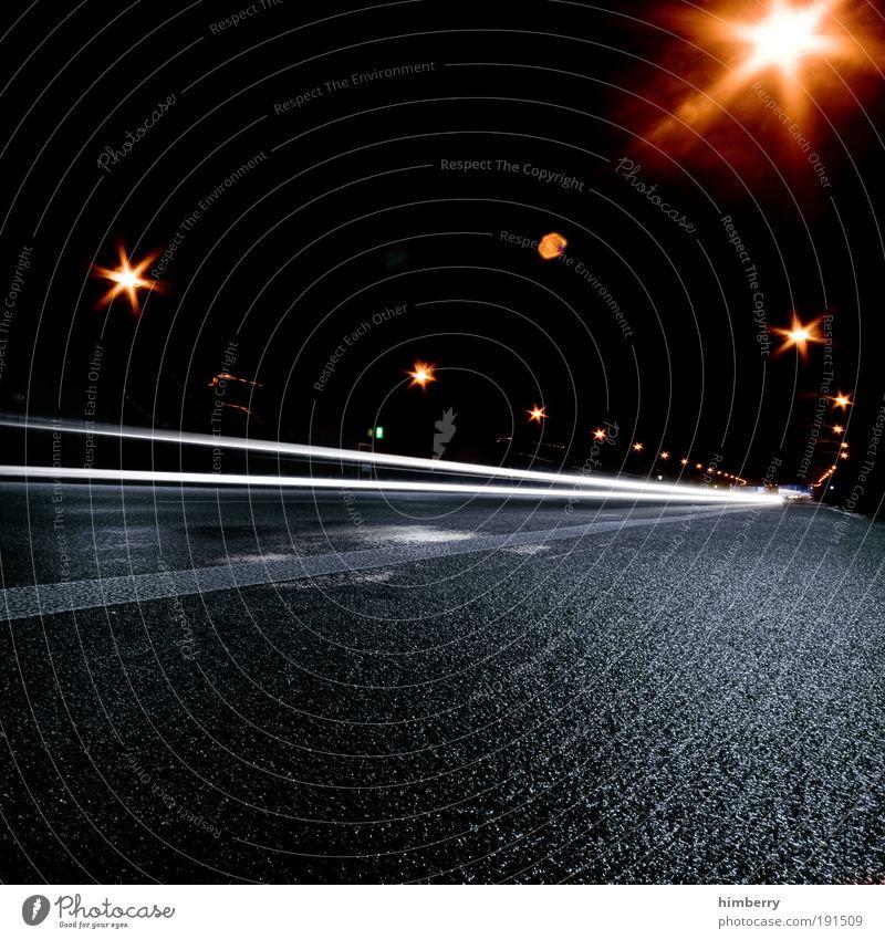 speed of light Ferien & Urlaub & Reisen Straße dunkel Verkehr Energiewirtschaft Geschwindigkeit Perspektive fahren Asphalt Rennsport Tunnel Verkehrswege