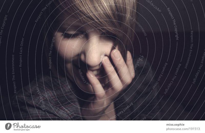 priceless gift Hand Leben feminin Kopf Bewegung Glück Haare & Frisuren lachen lustig Zufriedenheit Haut Finger Fröhlichkeit Hoffnung Vertrauen