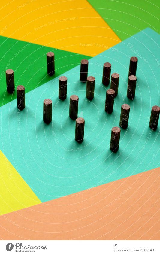 Holzelemente auf abstrakten Hintergrund Lifestyle Stil Design Freizeit & Hobby Spielen Basteln Modellbau Handarbeit Glücksspiel Güterverkehr & Logistik