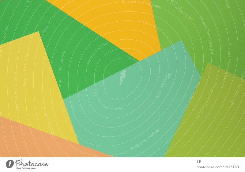 abstrakter Hintergrund / farbige Strukturen 4 grün Freude gelb Gefühle Lifestyle Wege & Pfade Hintergrundbild Stil Kunst Stimmung Design leuchten
