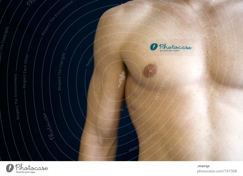 A Part of me Mensch Jugendliche Erwachsene nackt Gesundheit Körper Kraft Arme maskulin Lifestyle Coolness Macht 18-30 Jahre Wellness Fitness Brust