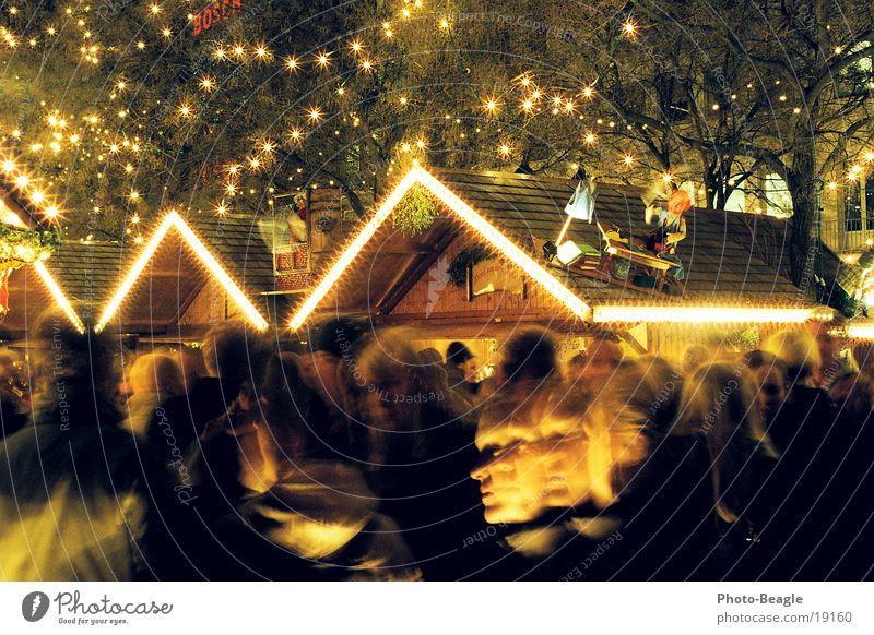 Weihnachtsmarkt-1 Weihnachten & Advent Glühwein Dienstleistungsgewerbe Glühweinstand Beleuchtung Weihnachtsbeleuchtung