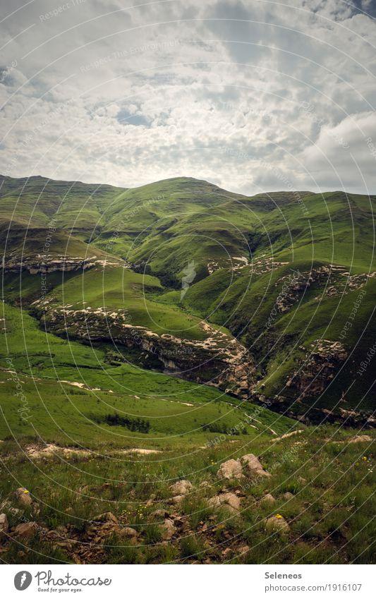 Mittelerde Himmel Natur Ferien & Urlaub & Reisen Sommer Sonne Landschaft Erholung Wolken ruhig Ferne Berge u. Gebirge Umwelt natürlich Freiheit Tourismus