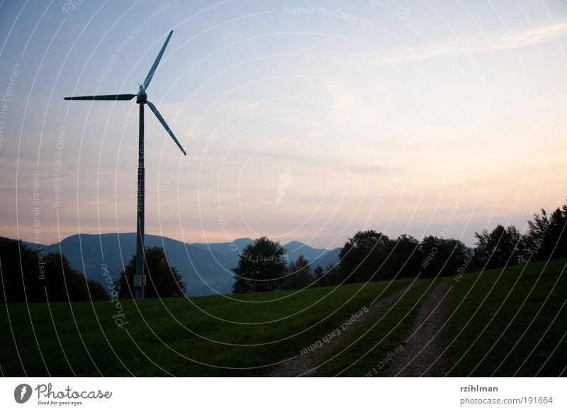 Windrad Natur Luft Energie Energiewirtschaft Elektrizität Windkraftanlage ökologisch sparen Klimawandel Stromkraftwerke Leistung Kohlendioxid alternativ neutral