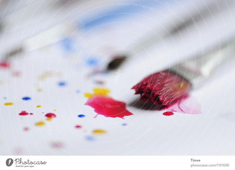 Malzeit! Freizeit & Hobby zeichnen blau gelb rot chaotisch einzigartig Freiheit Inspiration Kreativität Lebensfreude Freude Zufriedenheit malen malerisch Tusche