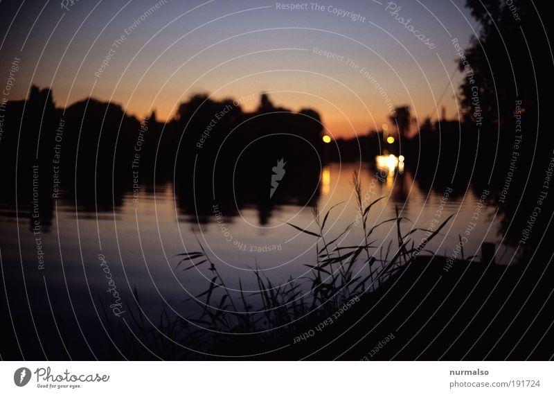 Sommer Sun Set harmonisch Freizeit & Hobby Angeln Ferien & Urlaub & Reisen Tourismus Ferne Freiheit Traumhaus Umwelt Natur Landschaft Wasser Nachthimmel