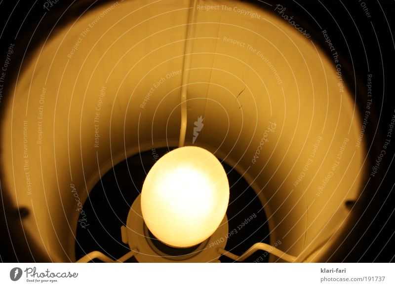 es werde Licht ruhig Lampe Design gemütlich Lampenschirm