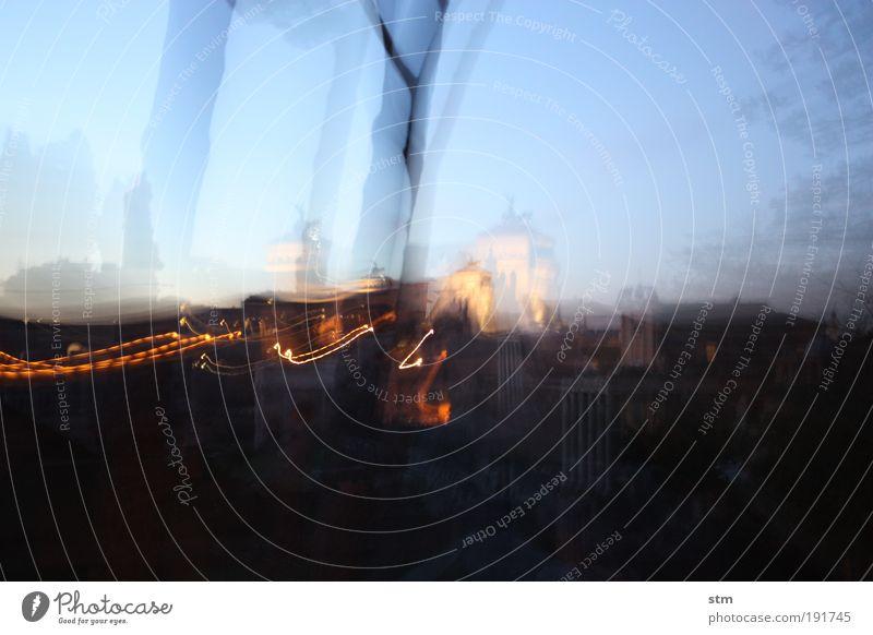 ... quand'e' sera ... blau Stadt Ferien & Urlaub & Reisen Haus Bewegung Gebäude träumen Feste & Feiern elegant glänzend fliegen Ausflug leuchten Bauwerk Dynamik