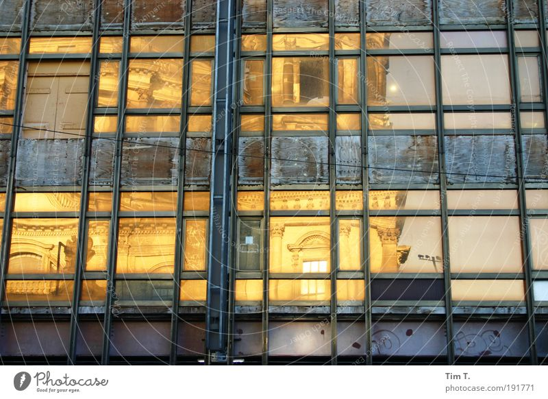 jetzt ist er weg .... Stadt Fenster Wand Architektur Berlin Gebäude Mauer Deutschland Fassade Wahrzeichen Denkmal Hauptstadt Sehenswürdigkeit Ruine Dom