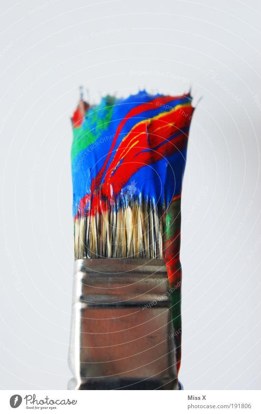 Regenbogenpinsel Basteln Häusliches Leben Hausbau Renovieren Umzug (Wohnungswechsel) Dekoration & Verzierung Arbeit & Erwerbstätigkeit Anstreicher Kunst