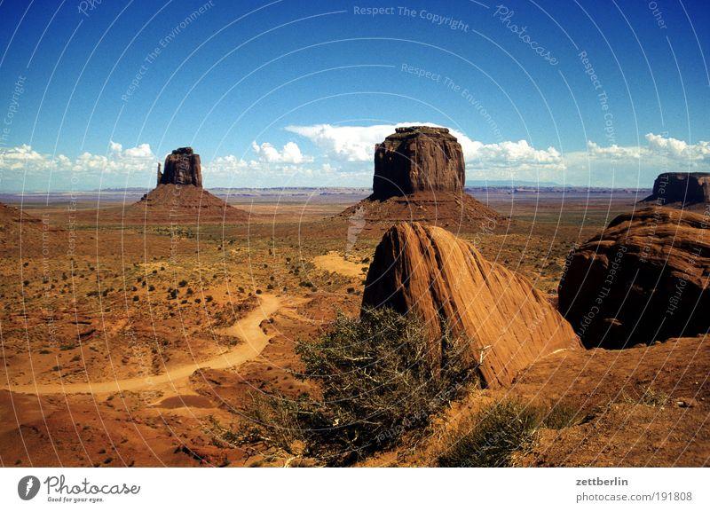 America Himmel Natur Ferien & Urlaub & Reisen Ferne Stein Wege & Pfade Felsen USA Wüste Reisefotografie Berge u. Gebirge Fußweg Amerika Schlucht Nationalpark