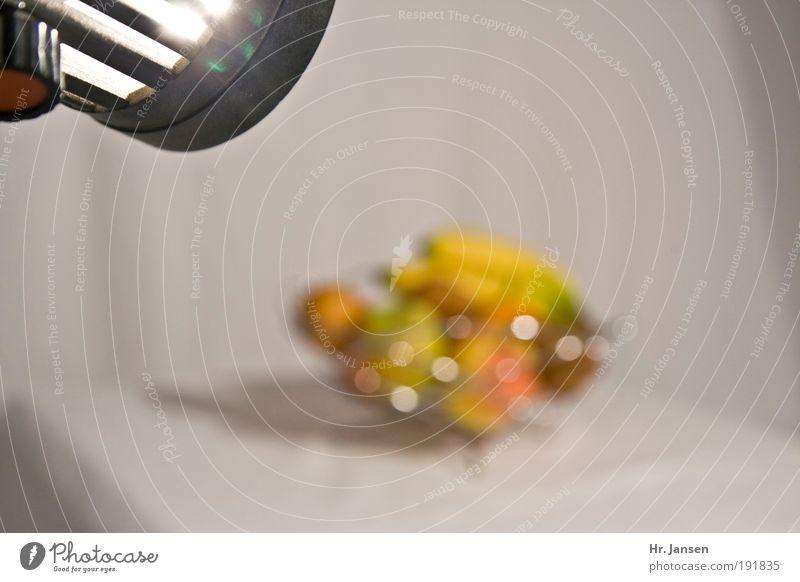 lighting Frucht Apfel Orange Schalen & Schüsseln Design Farbe Fortschritt Reichtum Freude Farbfoto Studioaufnahme Experiment Kunstlicht Unschärfe