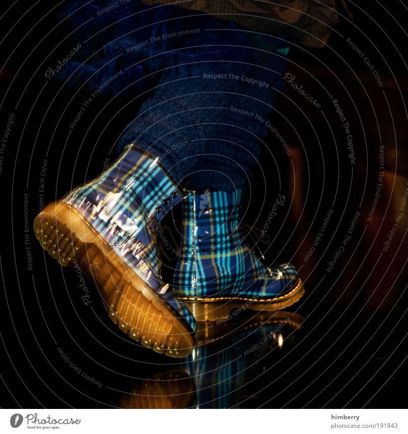 10 meter gehn Stil Schuhe elegant Mode Design Lifestyle Bekleidung Stoff Club Stiefel Veranstaltung Strümpfe trendy gestreift