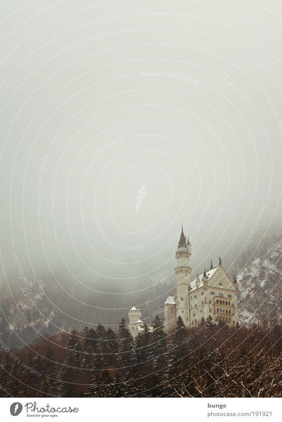 novus cygni lapis alt Winter Ferien & Urlaub & Reisen Wald dunkel Schnee Berge u. Gebirge Gebäude Landschaft Eis Architektur Nebel Fassade ästhetisch Frost