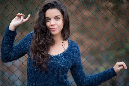 #Ana feminin Junge Frau Jugendliche Kopf Haare & Frisuren Gesicht 1 Mensch 18-30 Jahre Erwachsene Natur Frühling Sommer Herbst Winter Garten Park Pullover