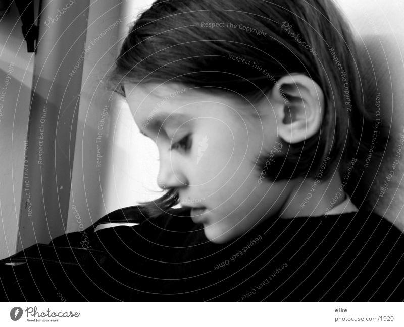 stimmung Kind Mensch Schwarzweißfoto