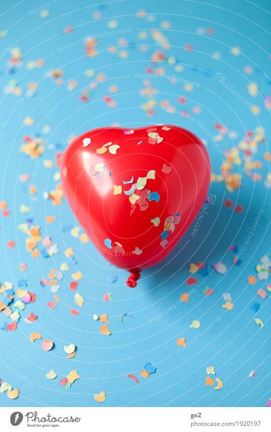 Partyspaß Freude Gefühle Liebe Glück Feste & Feiern Party Dekoration & Verzierung Geburtstag Fröhlichkeit Herz Lebensfreude Romantik Zeichen Luftballon Hochzeit Kitsch