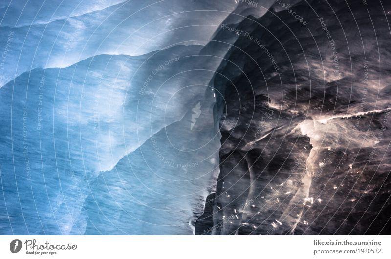 Magische Eiskapelle Natur blau Winter Berge u. Gebirge Umwelt außergewöhnlich Ausflug glänzend fantastisch einzigartig Abenteuer Klima Urelemente Frost Alpen