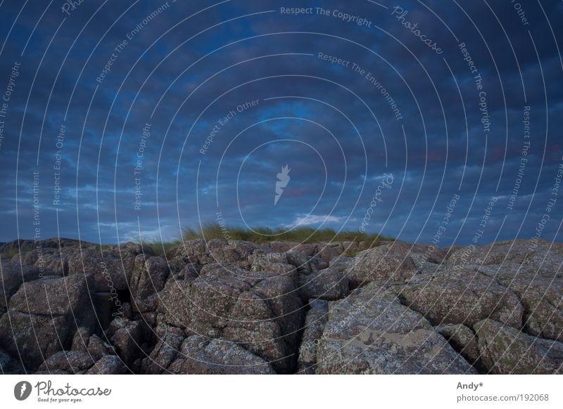 Und Gott schuf den Himmel und die Erde Freizeit & Hobby Schottland isle of Mull Natur Landschaft Luft Wolken Sommer Gras Felsen Küste Insel Stein Wasser