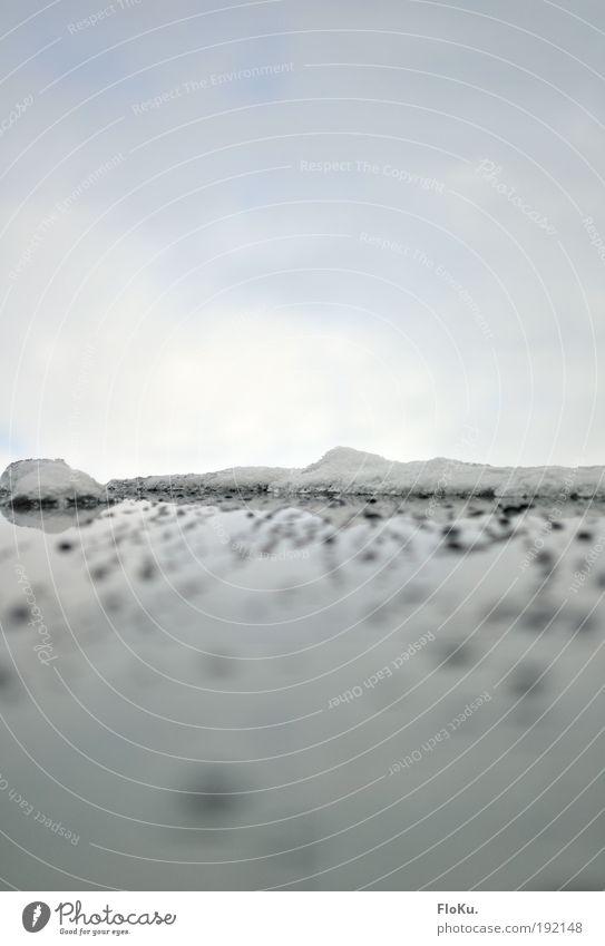 Eisberg vorraus Natur Wasser weiß Winter Wolken kalt Schnee grau Landschaft Glas Umwelt Wassertropfen Frost Klima entdecken