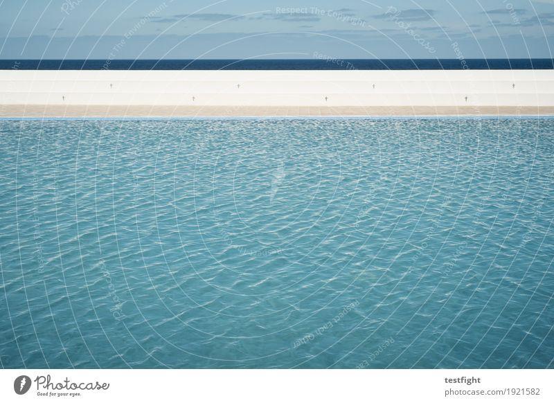 wasser Wellness harmonisch Wohlgefühl Erholung ruhig Spa Umwelt Natur Wasser Himmel ästhetisch glänzend nass Klarheit Schwimmbad leer Farbfoto Außenaufnahme