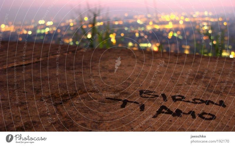 Sehnsucht Stadt Liebe Wand Glück Mauer Stein Horizont Schriftzeichen Romantik Wunsch Vergänglichkeit Italien Kitsch Vertrauen Leidenschaft