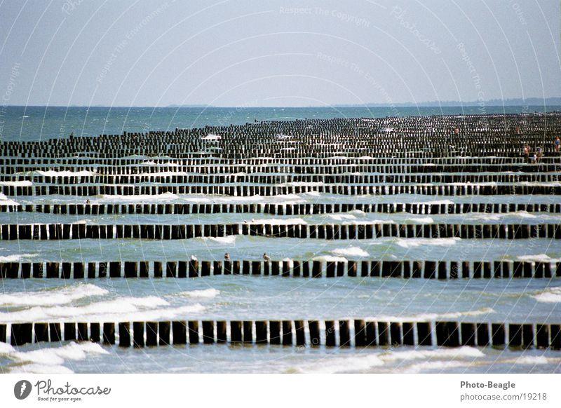 Entfernungseinstellung: Unendlich Strand Wellen Ostsee Buhne Zingst Meerwasser