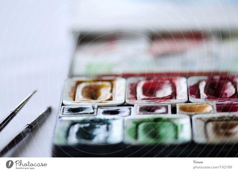 ich mal wieder... Freizeit & Hobby frisch mehrfarbig Zufriedenheit Vorfreude Farbe Freiheit Freude einzigartig Inspiration Kreativität Kunst Pinsel Tuschkasten