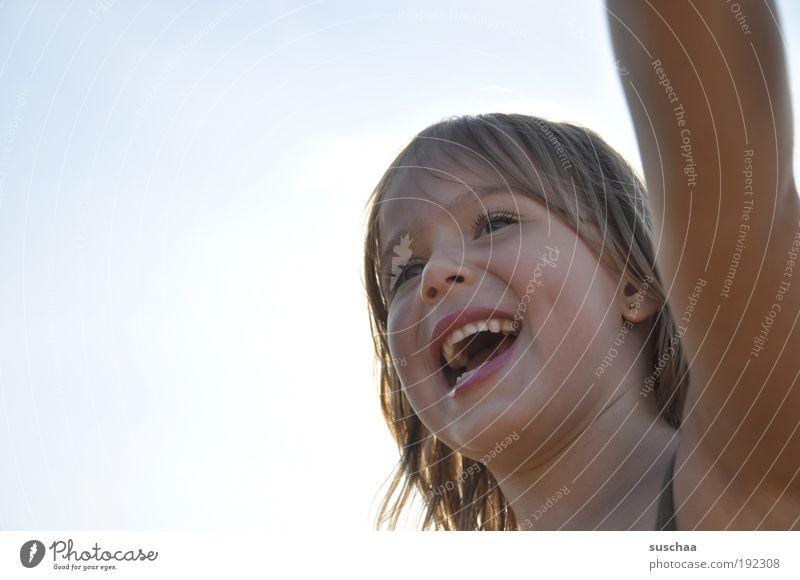 lachen Mensch Kind Mädchen Freude Gesicht Leben Kopf Haare & Frisuren Glück Kindheit Mund natürlich Nase frisch Fröhlichkeit