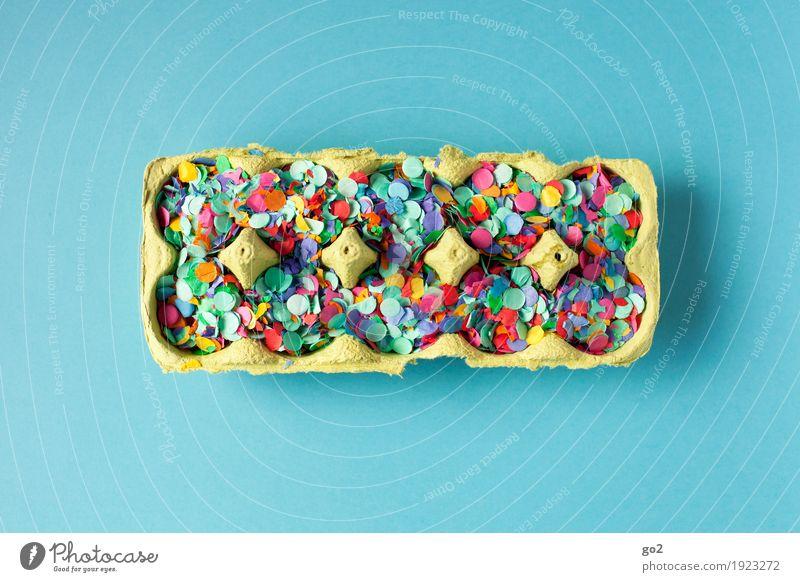 Überraschungseier blau Freude Party Feste & Feiern Ernährung Dekoration & Verzierung ästhetisch Kreativität Fröhlichkeit Lebensfreude Ostern Veranstaltung