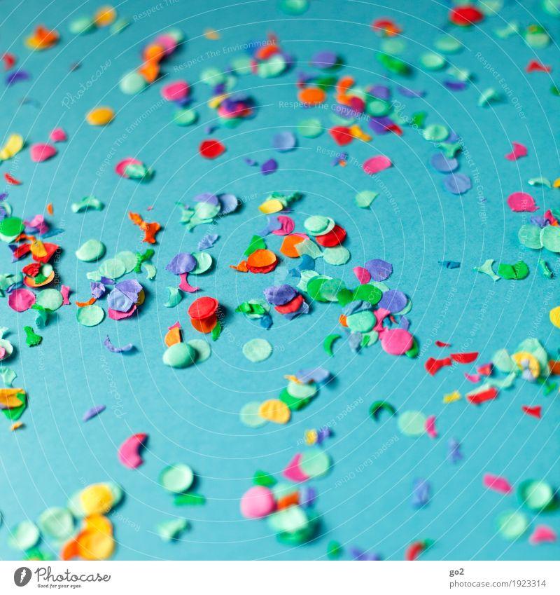 Helau und Alaaf blau Freude Glück Party Feste & Feiern Dekoration & Verzierung ästhetisch Kreativität Geburtstag Fröhlichkeit einzigartig Lebensfreude Papier