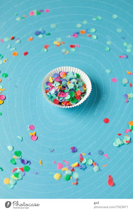 Konfettimuffin Muffin Freude Entertainment Party Veranstaltung Feste & Feiern Karneval Silvester u. Neujahr Jahrmarkt Geburtstag Verpackung
