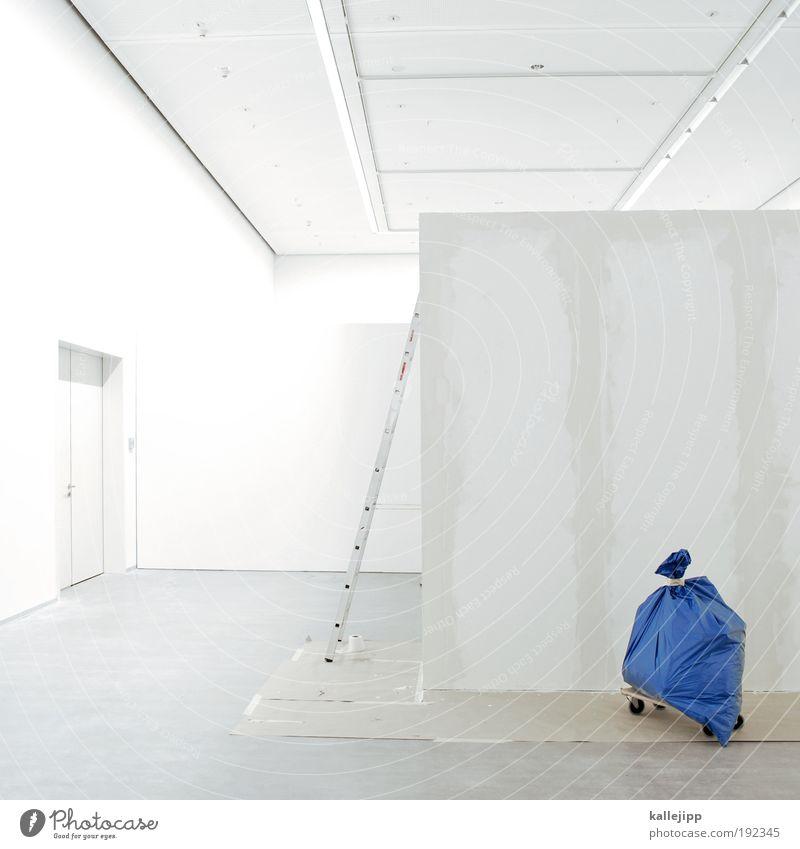 hobbykeller Kunst Arbeit & Erwerbstätigkeit Tür Wohnung Design modern Häusliches Leben Lifestyle Baustelle Müll Fabrik Umzug (Wohnungswechsel)