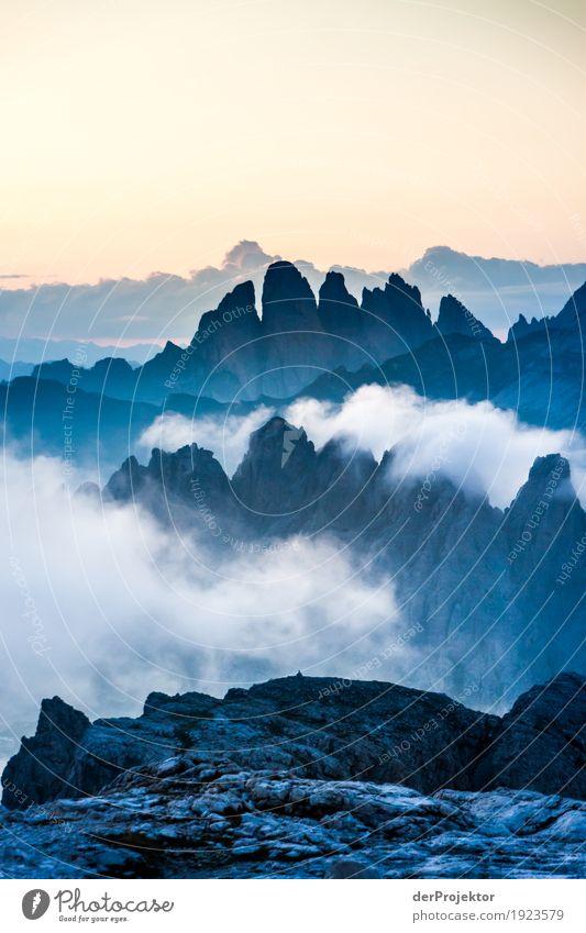 Sonnenuntergang am Grötner Joch Natur Ferien & Urlaub & Reisen Sommer Landschaft Erholung Wolken Freude Ferne Berge u. Gebirge Umwelt Freiheit Tourismus Felsen