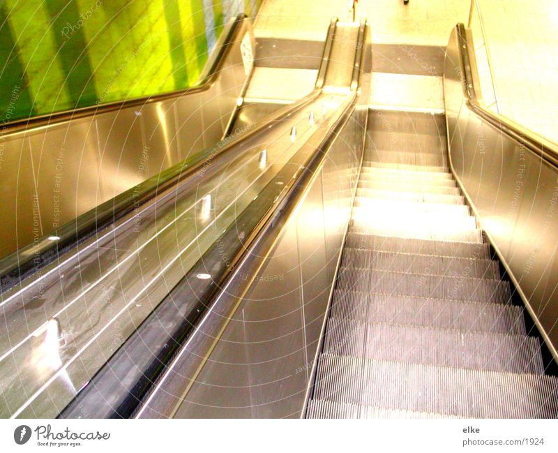 faszinationspause Bewegung U-Bahn Rolltreppe