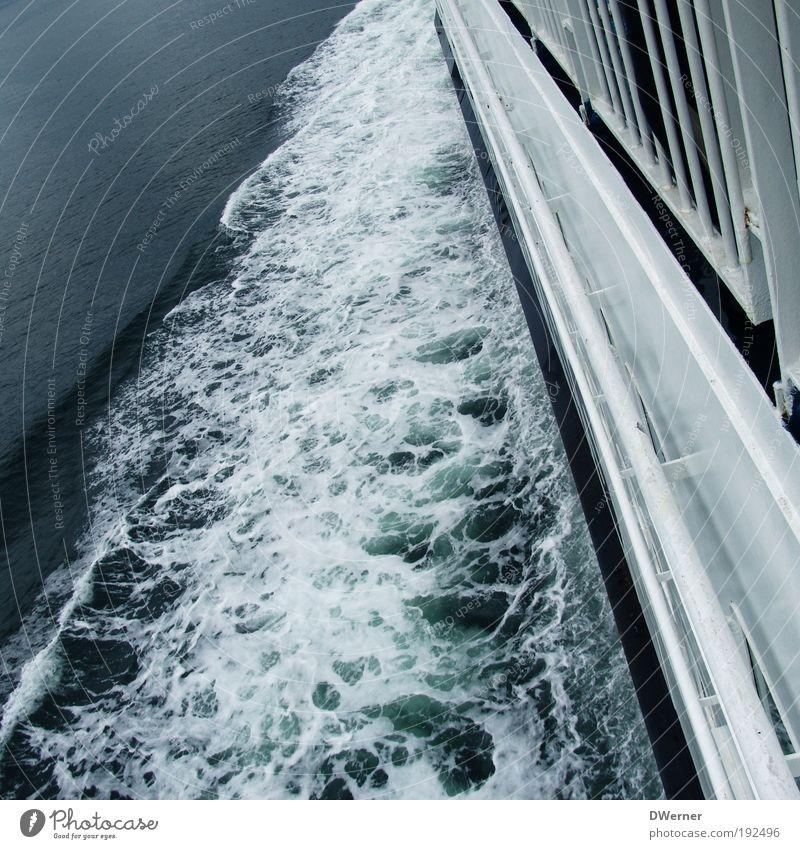 Gegen die Urgewalten ankämpfen! Natur weiß Meer Umwelt See Wasserfahrzeug Wellen Wind elegant Klima Geschwindigkeit fahren Nordsee Ostsee Schifffahrt Segeln
