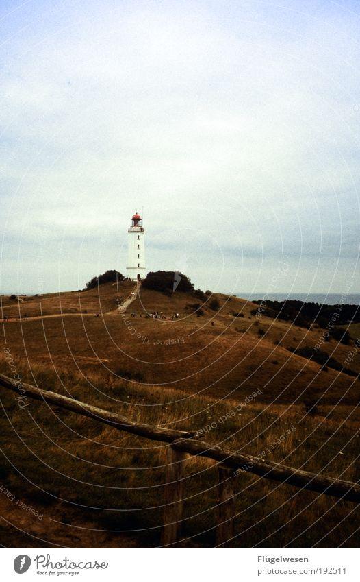 Leucht Tom Sonne Sommer Ferien & Urlaub & Reisen Meer Ferne Freiheit Küste Kraft Freizeit & Hobby Ausflug Erfolg Tourismus Lifestyle Macht Nordsee beobachten