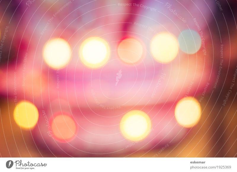 Bokeh Design Kunst Fröhlichkeit Kitsch lustig retro rund verrückt mehrfarbig gelb gold violett orange rosa rot weiß bizarr Farbe Freizeit & Hobby Freude