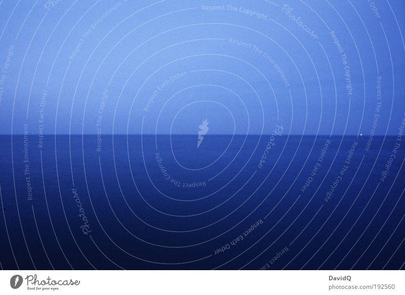 blau Natur Wasser Meer ruhig Ferne Umwelt Horizont Ostsee weitläufig