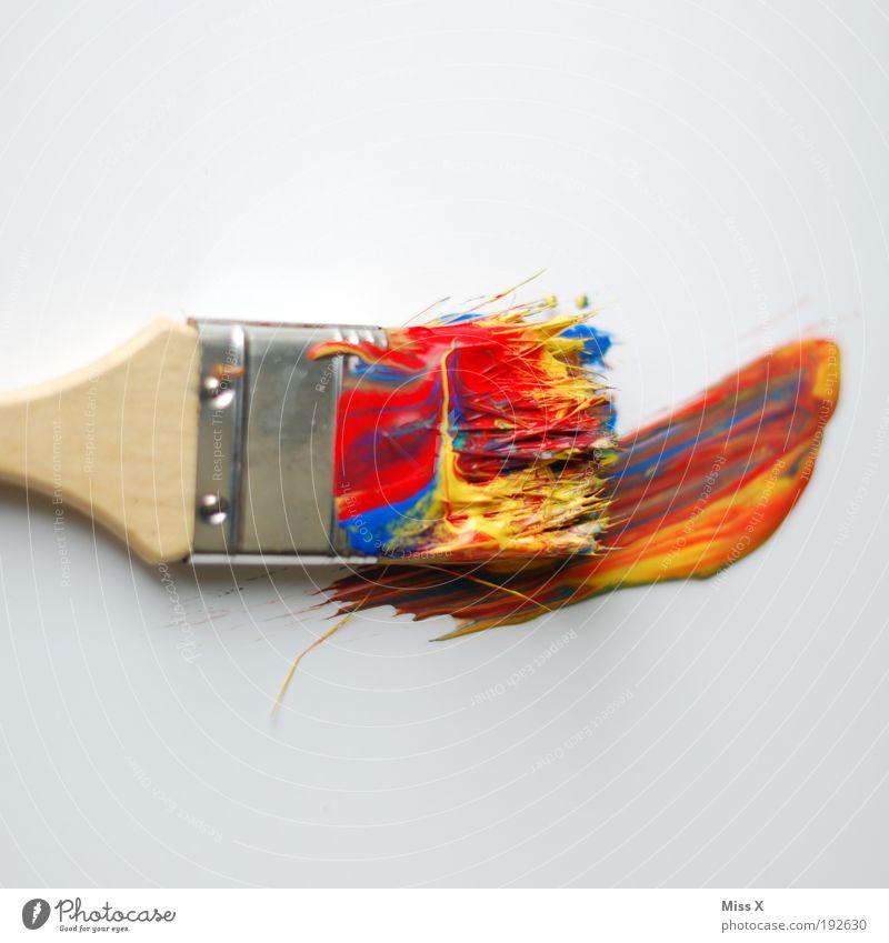 Ces treibts bunt Farbe Farbstoff Baustelle Kunst dreckig Freisteller Künstler Freizeit & Hobby Dekoration & Verzierung streichen Innenarchitektur Produktion Mensch malen mehrfarbig