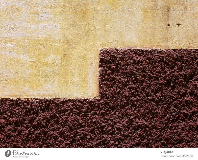 BRA 2010 - Mauer Bauwerk Wand Fassade Straße Stein Beton alt eckig braun rot ästhetisch Kultur ruhig Strukturen & Formen Hintergrundbild Hintergrund neutral