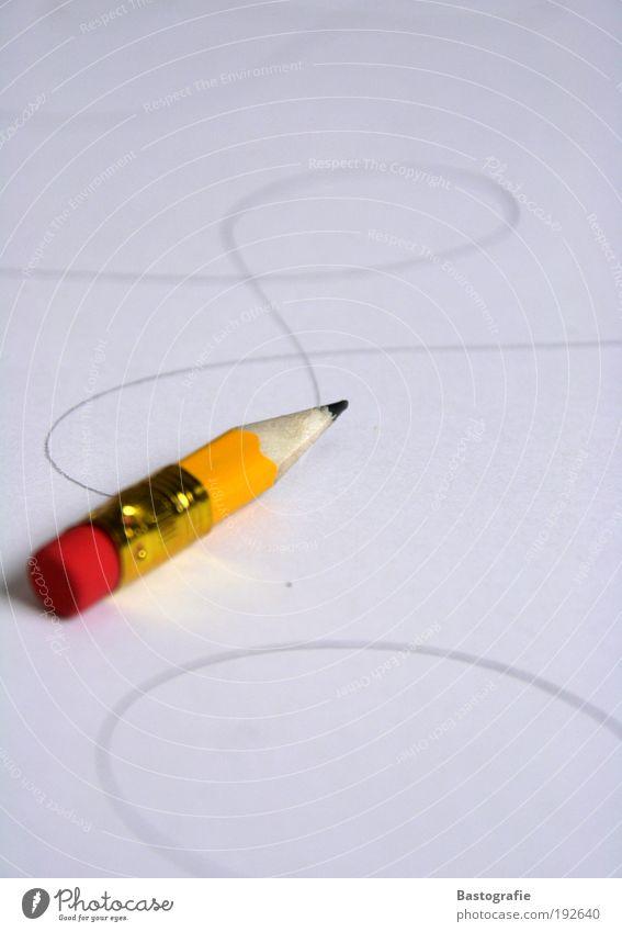 Petit Picasso Design Freizeit & Hobby zeichnen Zeichnung lernen Büroarbeit klein Schreibstift Bleistift mini Papier Linie Gemälde Kunst Entwurf radieren gelb